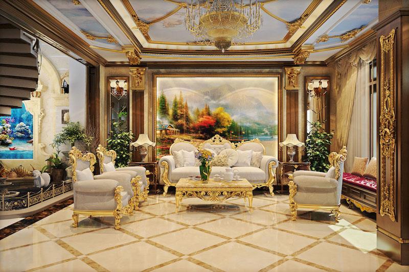 Phong cách cổ điển thường có thiết kế tinh xảo, sang trọng