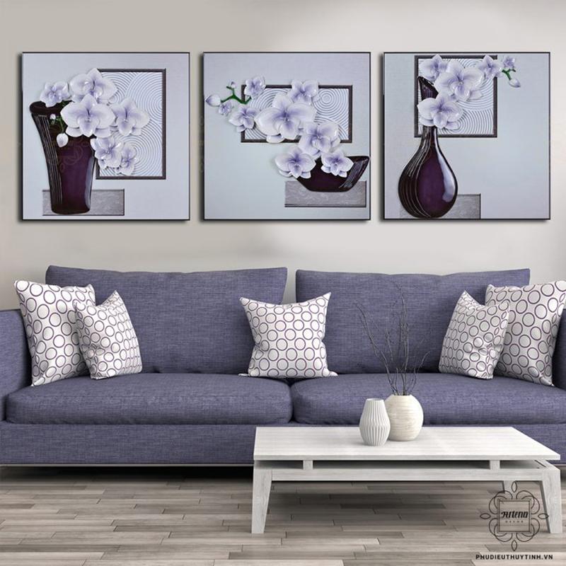 Tranh hoa lan mang nhiều ý nghĩa trong việc trang trí nhà cửa