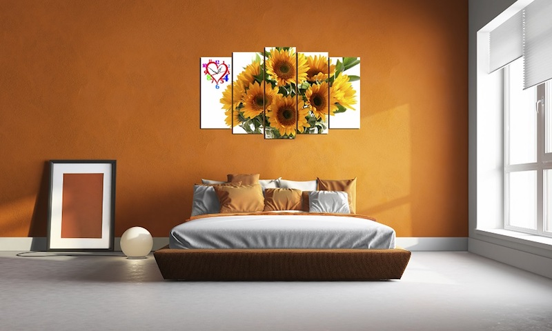 Tranh treo phòng ngủ sẽ giúp bạn cảm thấy thư giãn hơn
