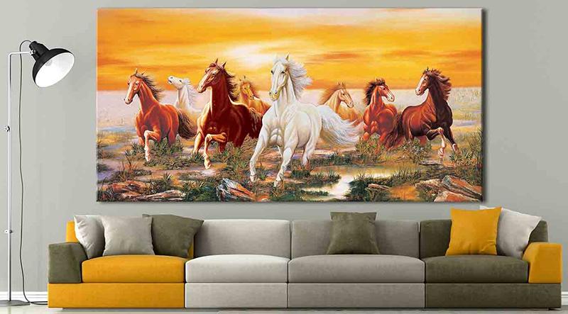 Chọn vị trí treo tranh phù hợp để phát huy tối đa giá trị của tranh