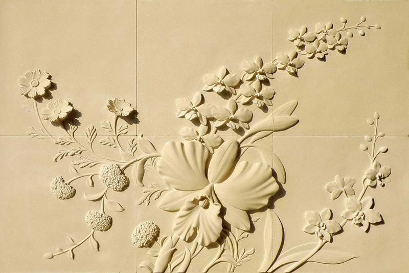 Tranh phù điêu cát được tạo thành từ sự tinh tế, tỉ mỉ dưới bàn tay nghệ nhân - Nguồn: melann.com.vn