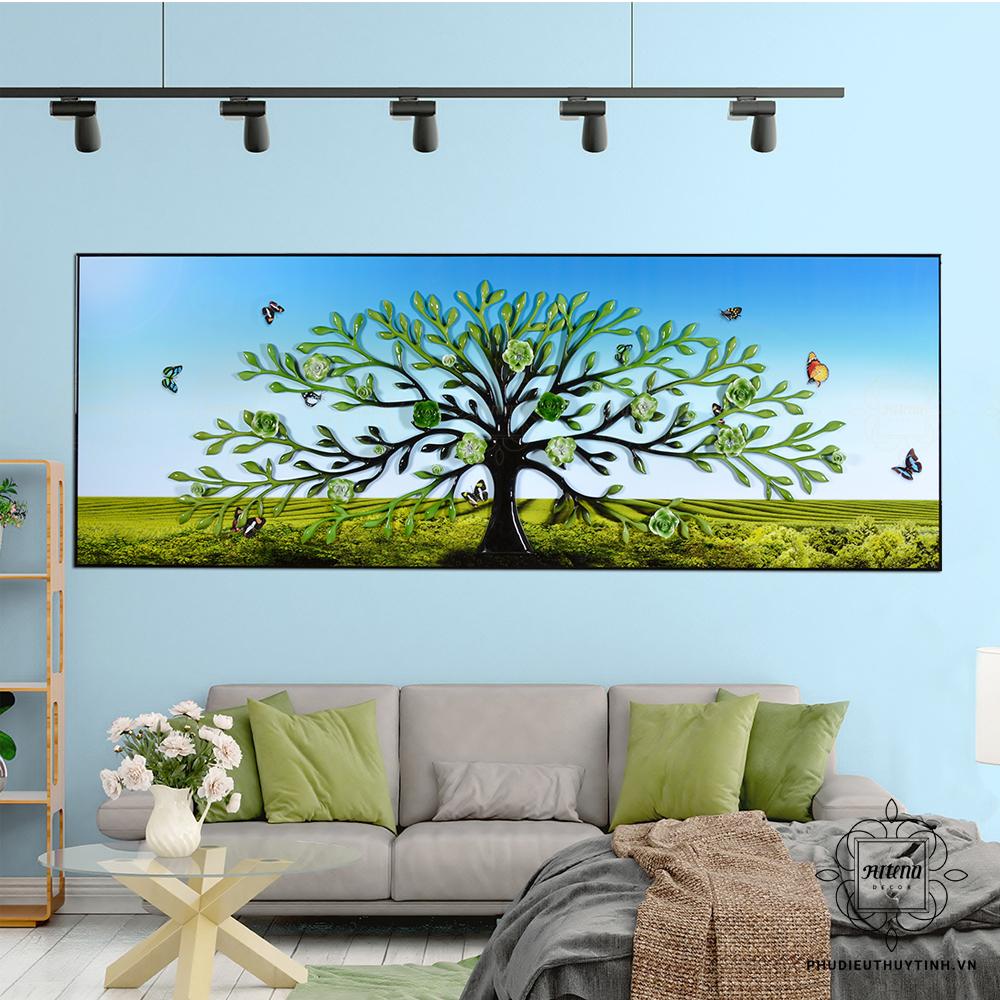 """Chỉ với một vài thao tác đơn giản, bạn đã có thể mang bức tranh """"cây sinh mệnh"""" về nhà"""