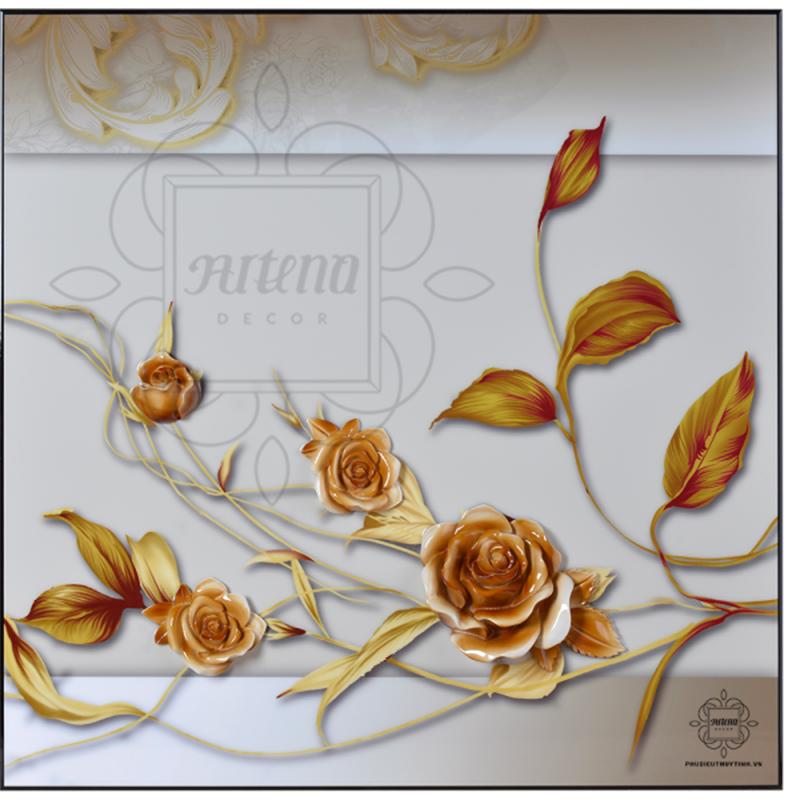 Những cánh hoa mang theo cho gia chủ sự may mắn, cát tường