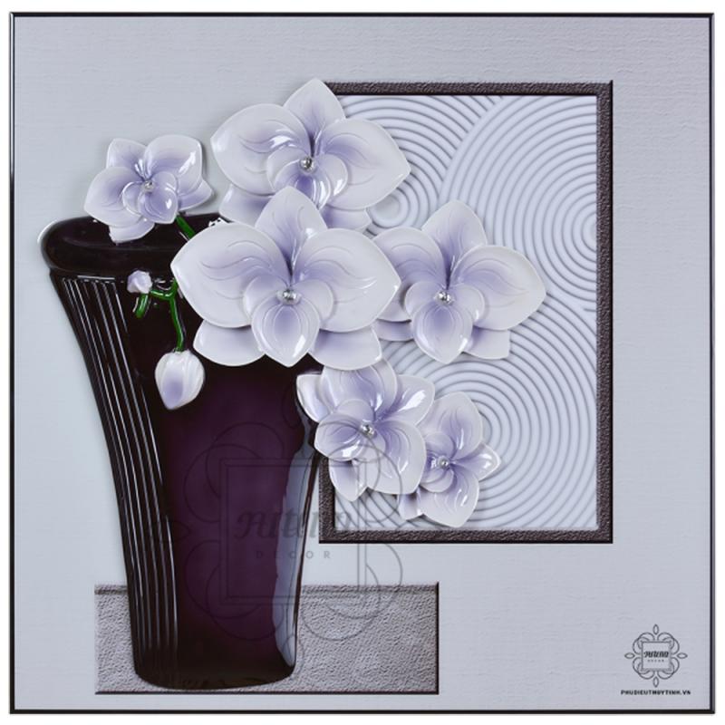 Thất Nhã Lan Hương - bức tranh hoa vừa đẹp vừa mang nhiều ý nghĩa tốt lành
