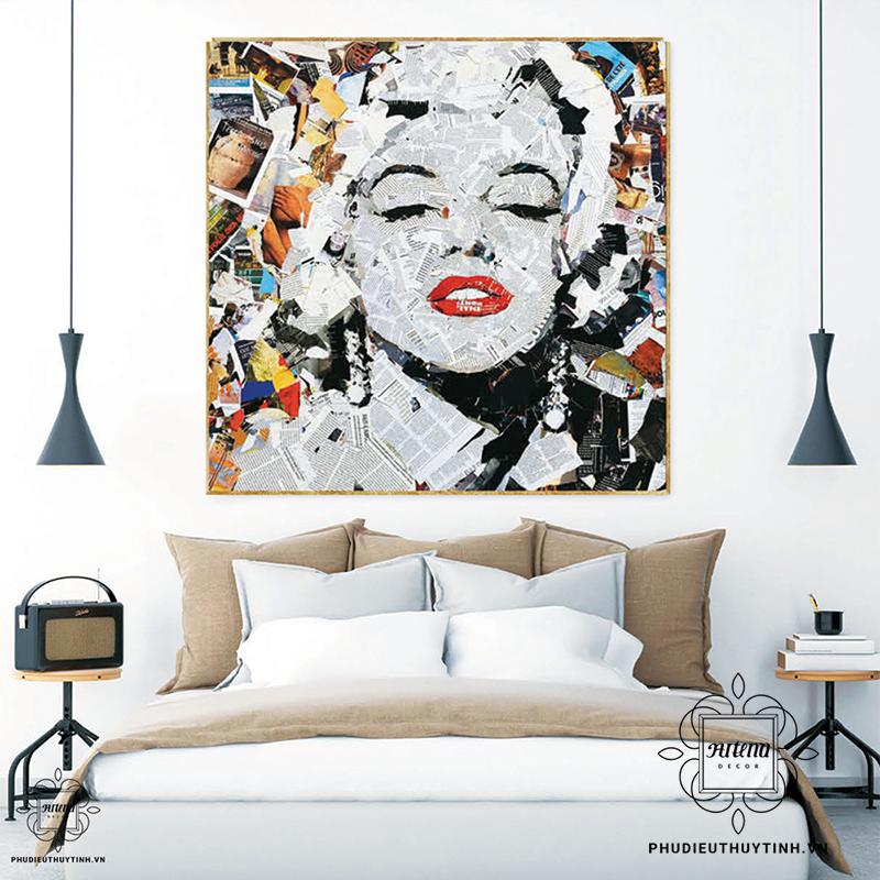 Tranh Pop Art lấy ý tưởng từ những hình ảnh thường nhật của cuộc sống