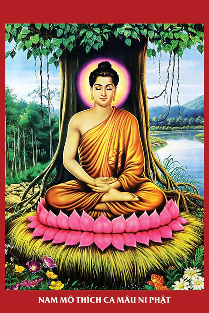 Treo tranh Phật cầu bình an cho gia đạo