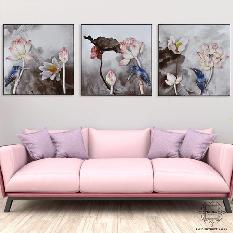 Cẩn thận khi chọn màu sắc tranh phù điêu khi treo tường