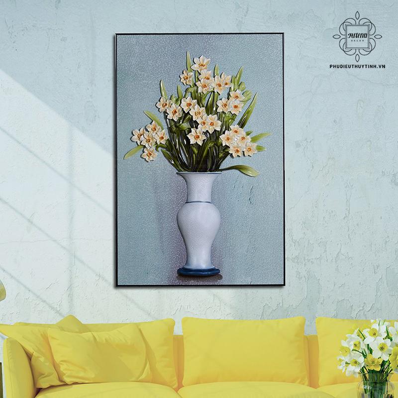 Chọn tranh treo tường phù hợp với không gian sẽ giúp gia tăng vẻ đẹp cho không gian