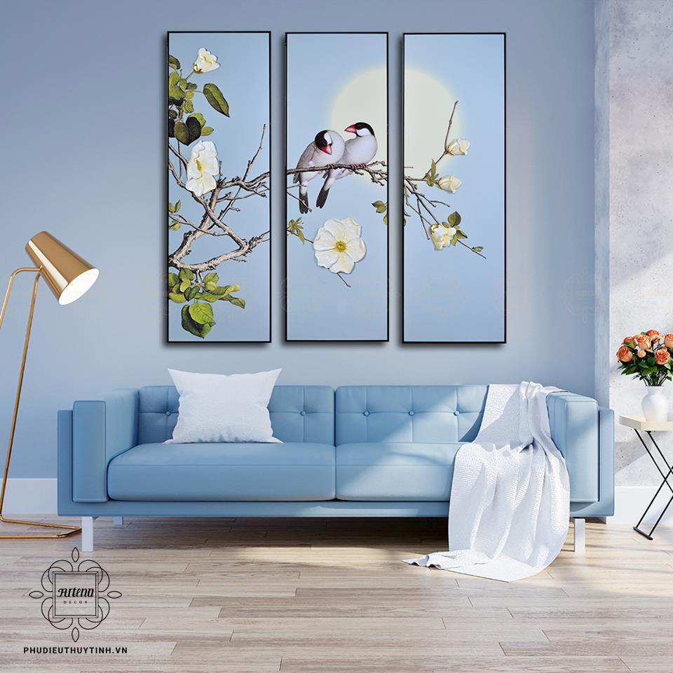 Hãy mang cả sự sống tự nhiên vào nhà với tranh phù điêu phong cảnh thiên nhiên