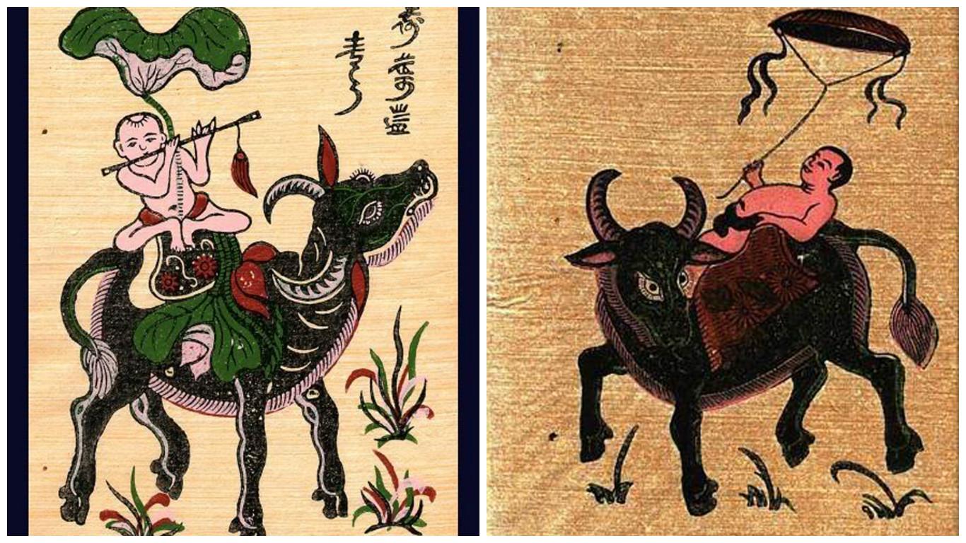 Người tuổi Tỵ rất hợp với tranh có hình ảnh con trâu, gà hoặc khỉ - Nguồn: Giờ Cao Điểm