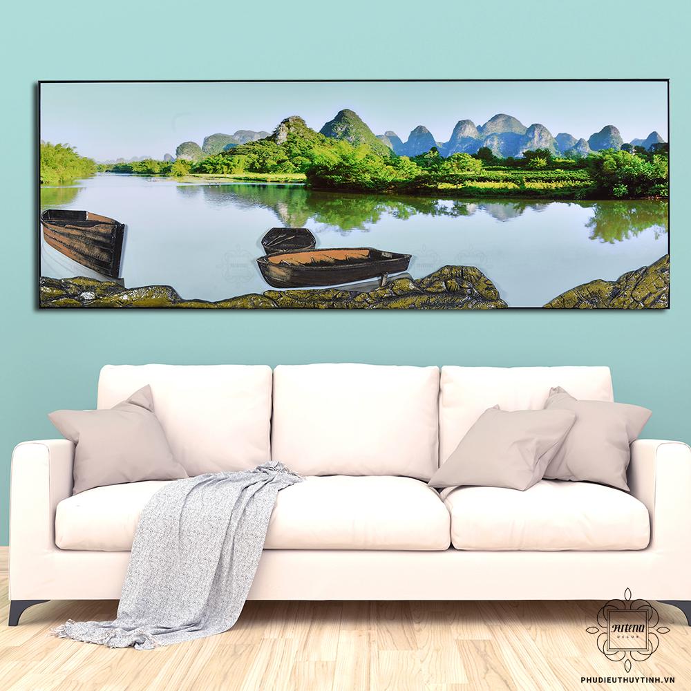 Những bức tranh mang hành Thủy rất hợp với Quý Tỵ
