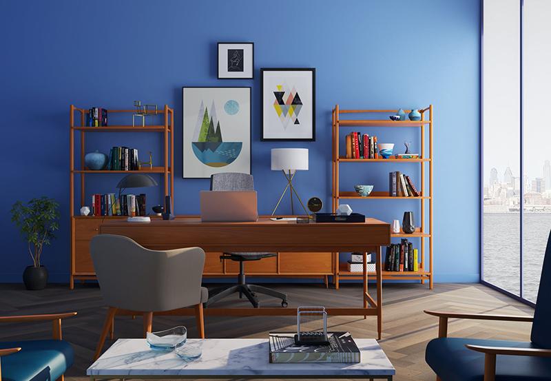 Những thiết kế tinh giản trong tranh, giúp căn phòng thêm hiện đại và nổi bật - Nguồn: pexels.com