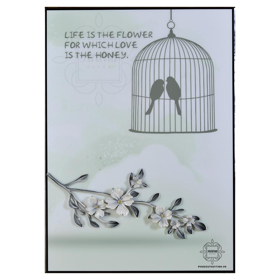 Bạn thích hai chú chim với một lời đề tựa ý nghĩa