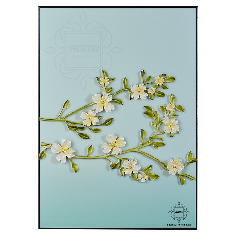 Bông hoa trắng muốt tượng trưng cho sự lương thiện và thấu hiểu lòng người