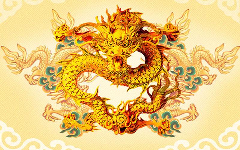 Bức tranh về rồng là lựa chọn hàng đầu cho người tuổi Thìn