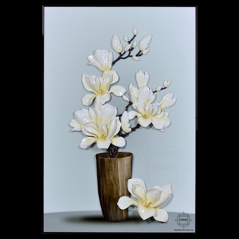 Mỗi màu hoa ngọc lan đều mang ý nghĩa như lời chúc tốt đẹp, hoàn hảo đến gia chủ