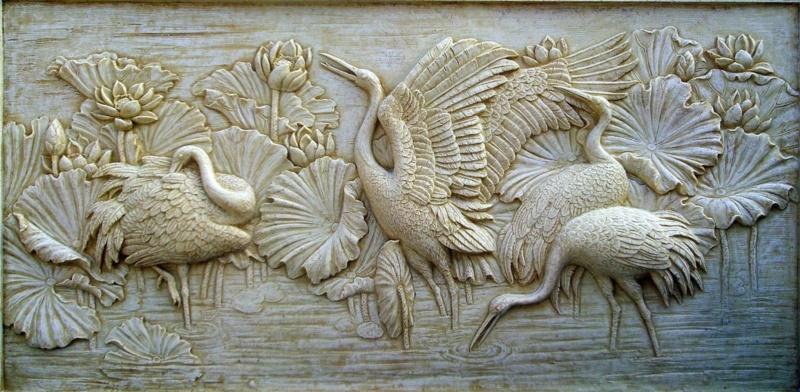 Tranh phù đTranh phù điêu thạch cao hoa sen Tranh phù điêu thạch cao hoa sen iêu thạch cao sở hữu nhiều ưu điểm vượt trội về tính nghệ thuật lẫn khả năng ứng dụng