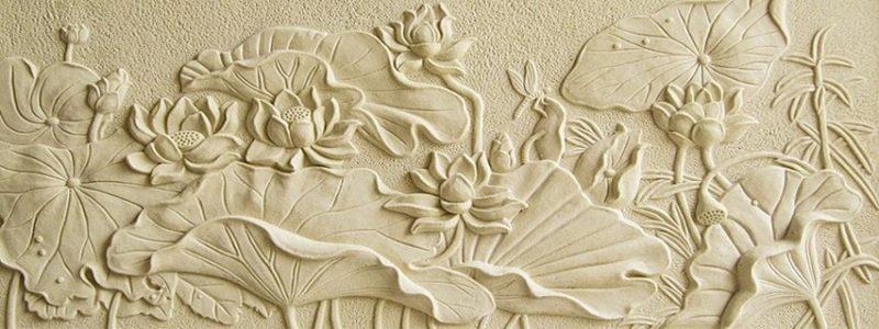 Tranh phù điêu thạch cao có ưu điểm vượt trội về tính nghệ thuật