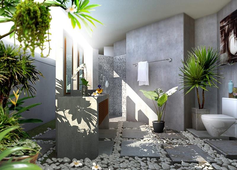 Nên bố trí nhiều cửa kính để tận dụng ánh sáng và gió trời tự nhiên
