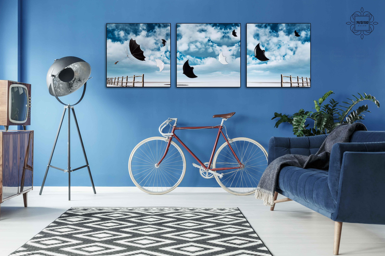 Những bức tranh phù hợp được treo trong nhà sẽ giúp xua đuổi tai ương, hút may mắn, tài lộc