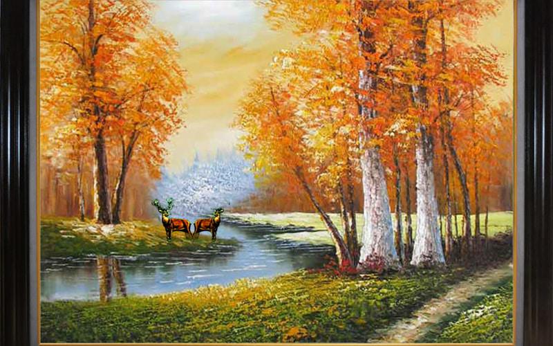 Đừng treo tranh thiên nhiên có màu sắc quá ảm đạm