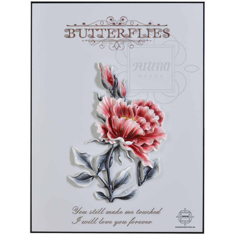 Tranh hoa mẫu đơn - Lựa chọn hoàn hảo cho người tuổi Thìn yêu hoa