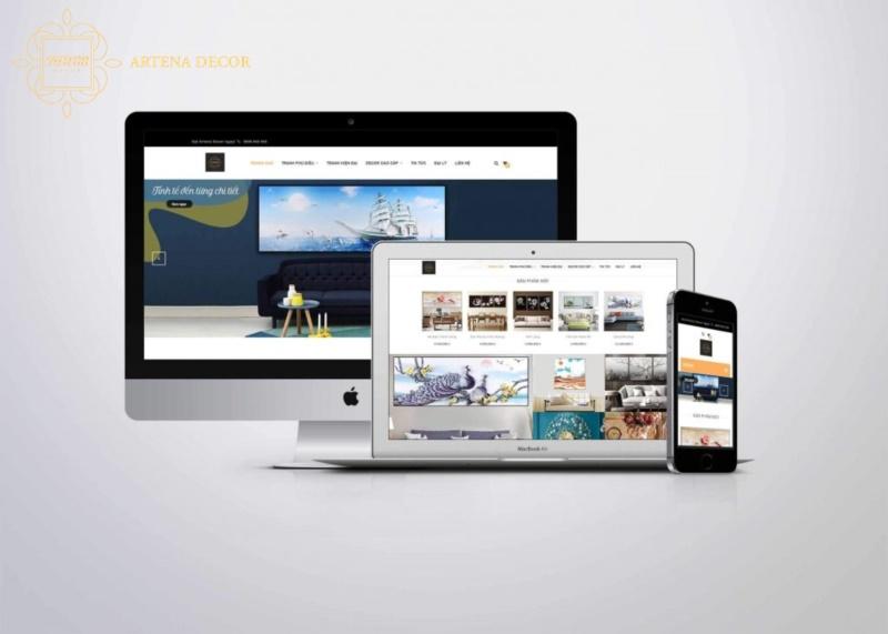 Mua tranh tại website Artena Decor nhanh chóng, đơn giản, tiện lợi