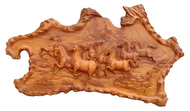 Tranh phù điêu gỗ, mang ý nghĩa tâm linh độc đáo Artena Decor