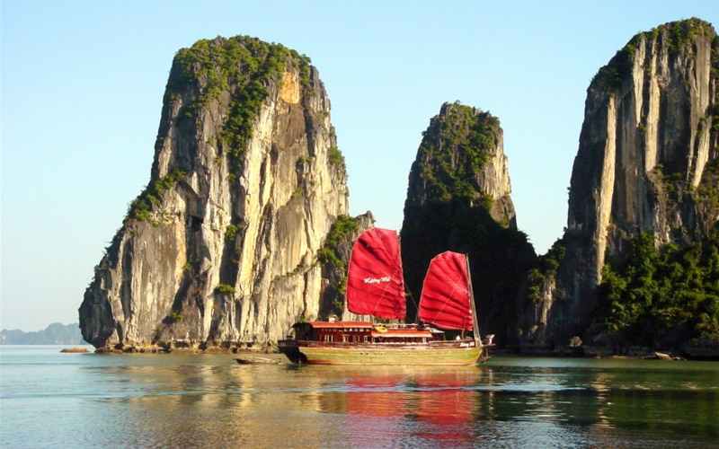 Vịnh Hạ Long - Cảnh đẹp như tranh