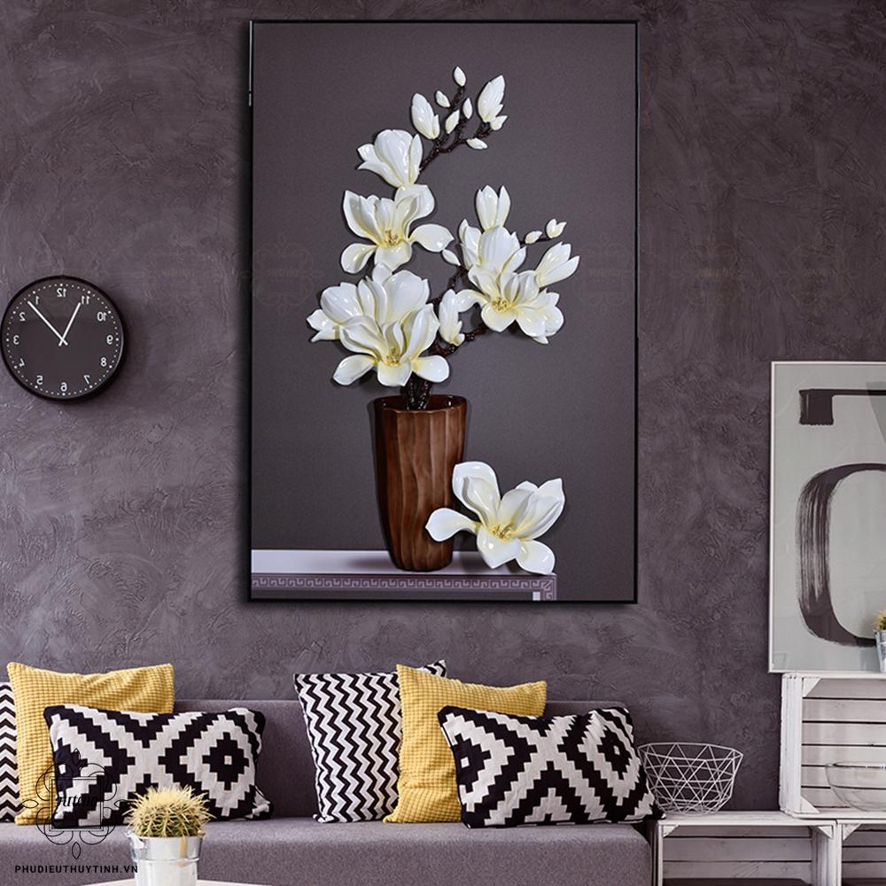 Vẻ đẹp thanh tao của hoa mộc lan gây ấn tượng mạnh