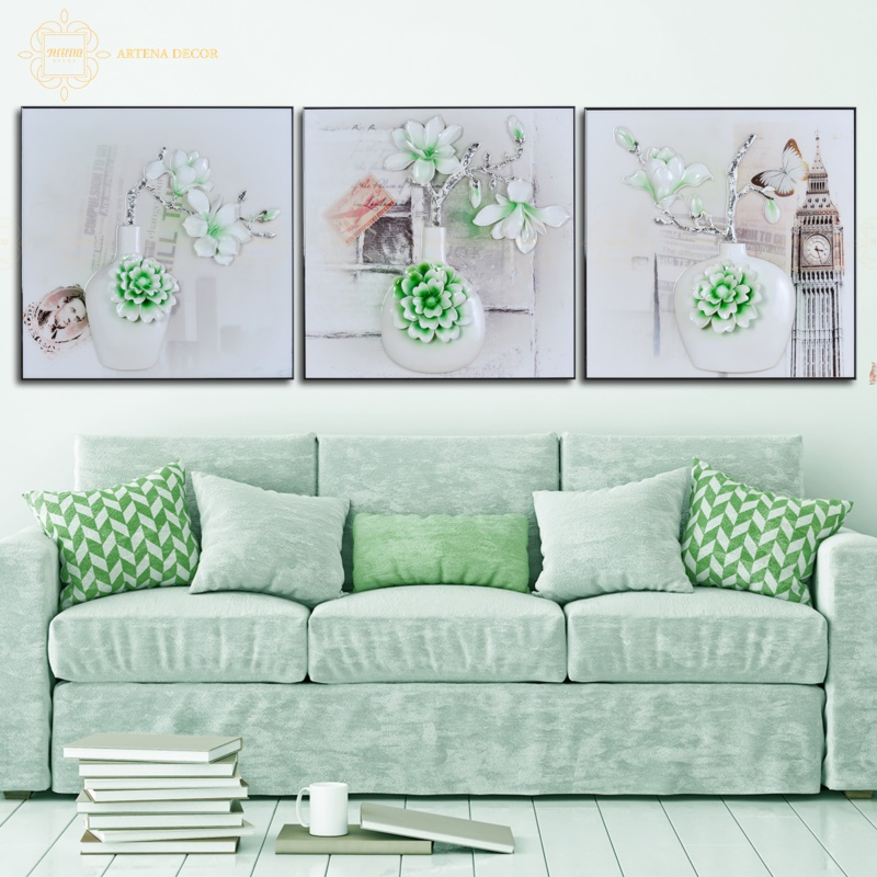 Tranh treo tường vật dụng trang trí nội thất không thể thiếu