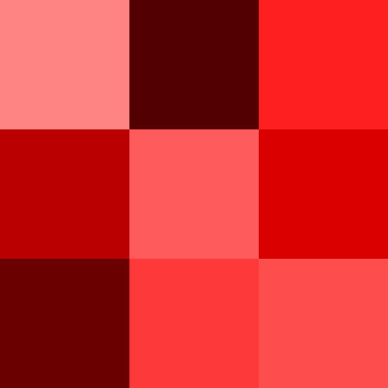 Sắc đỏ là tone màu may mắn trong phong thủy