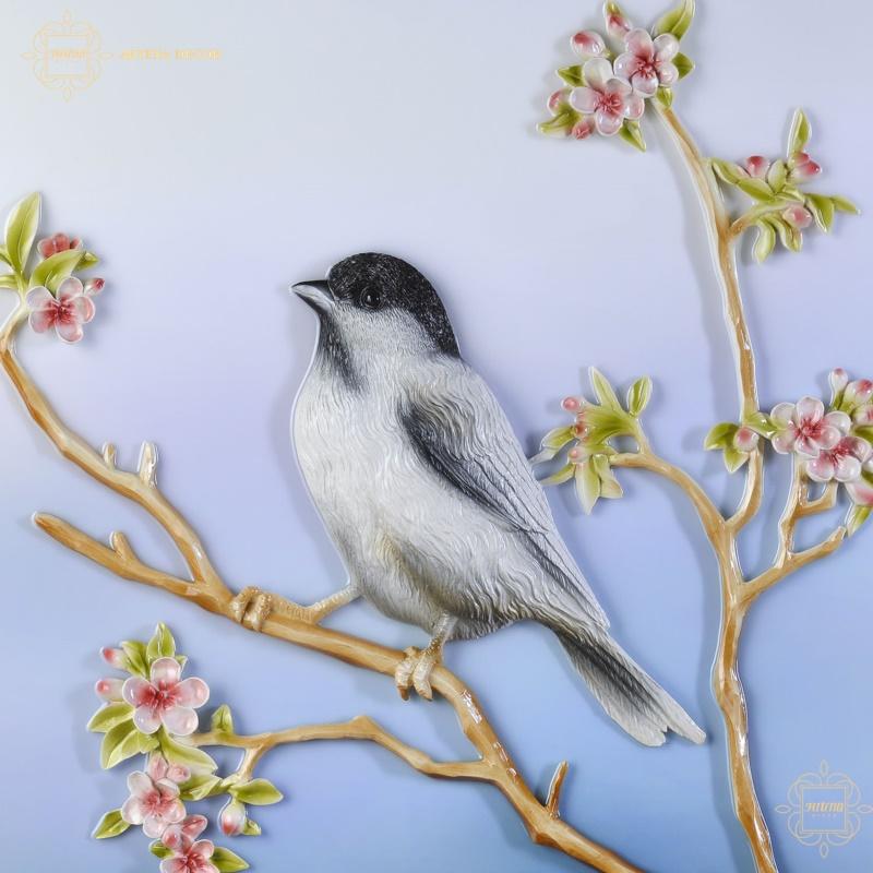 Tranh chim hỷ tước mang nhiều ý nghĩa cát lợi, may mắn