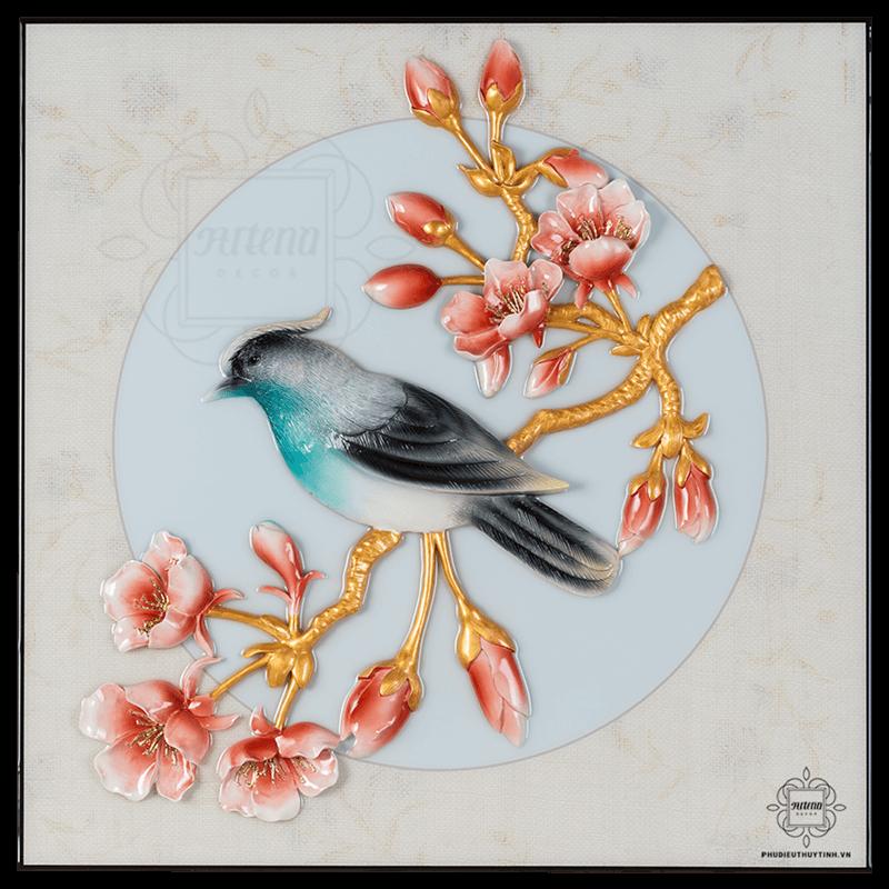 Hỷ Tước là loài chim tượng trưng cho may mắn trong phong thủy