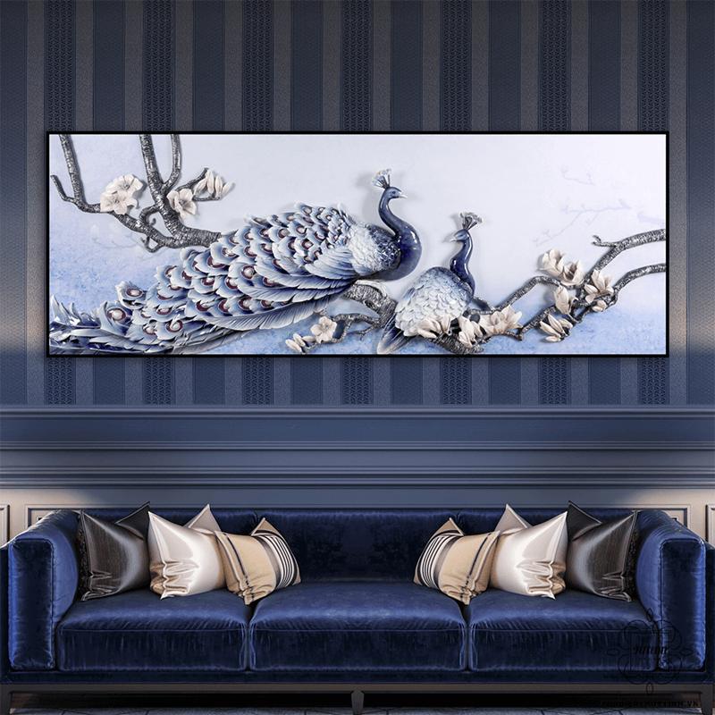 Hồng Đỉnh Hoa Linh sang trọng trong không gian phòng khách