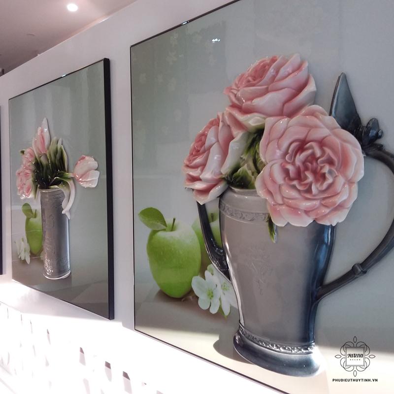 tranh hoa hồng