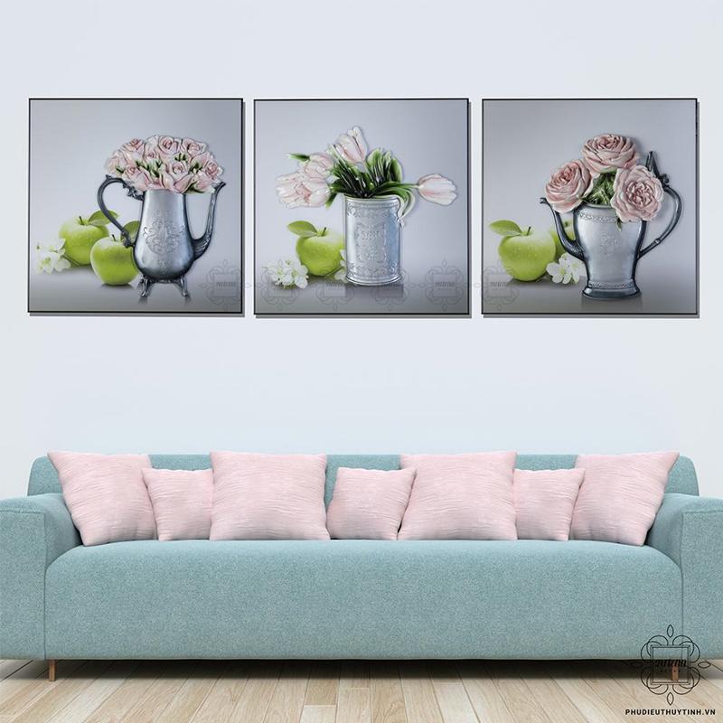 tranh hoa hồng Hảo phúc khí