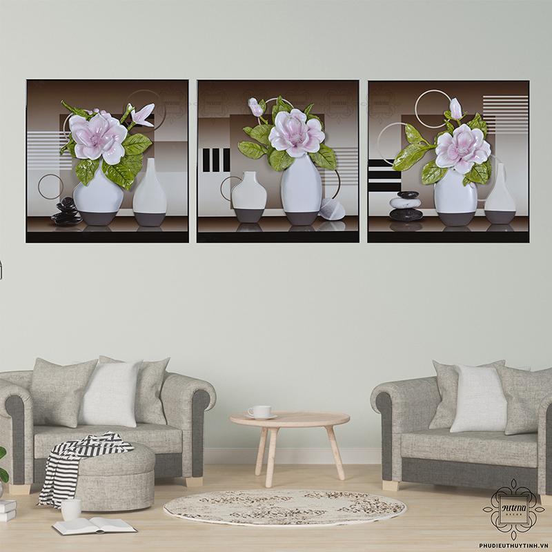 tranh hoa hồng Phú Quý