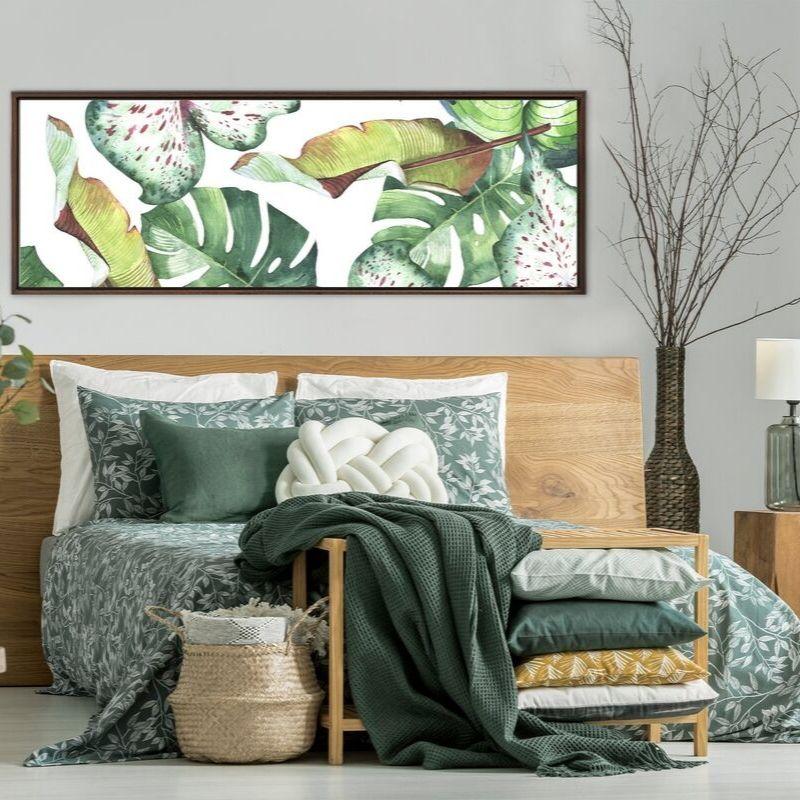Tranh treo tường Canvas thường được sử dụng trong những thiết kế kiến trúc hiện đại, đơn giản