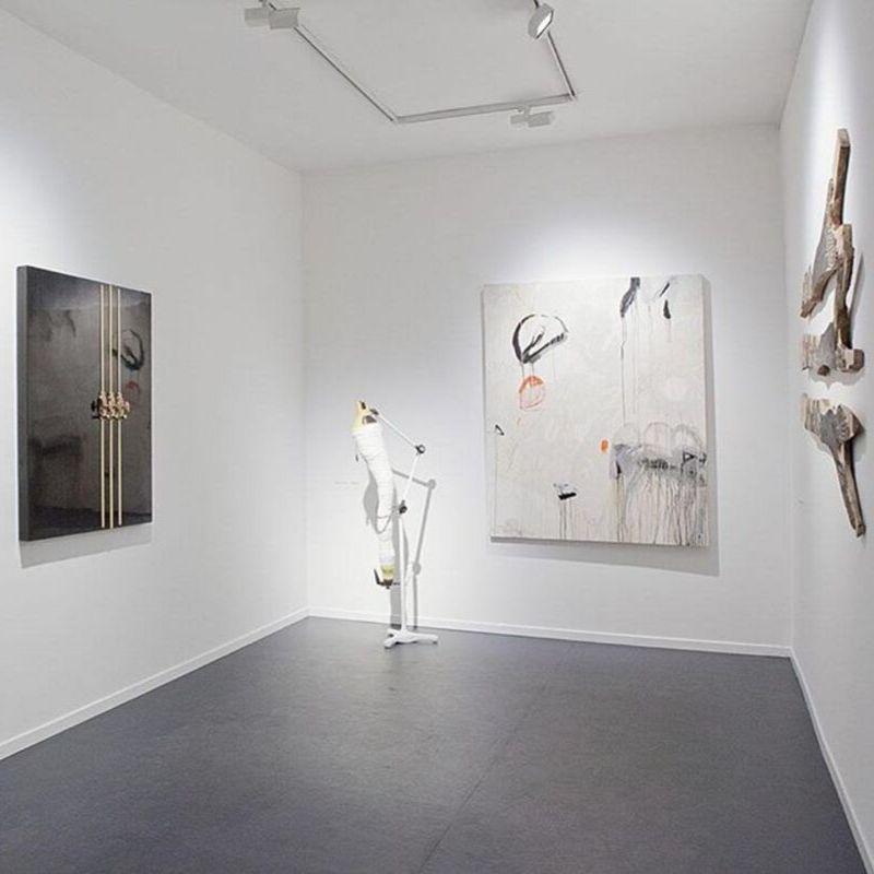 Một góc phòng tranh CUC Gallery