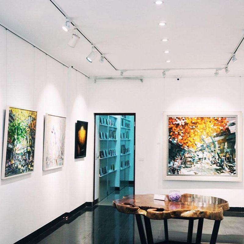 Phòng tranh Nguyen Art Gallery nhấn mạng giá trị truyền thống trong các tác phẩm nghệ thuật