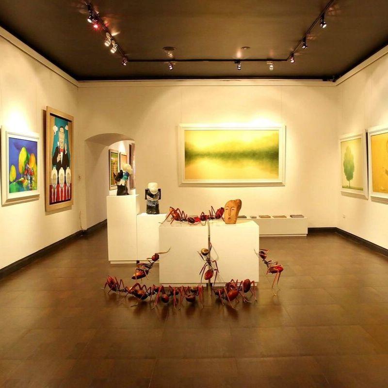 Green Palm Gallery với vị thế nhất định trong những phòng tranh nghệ thuật tại Hà Nội