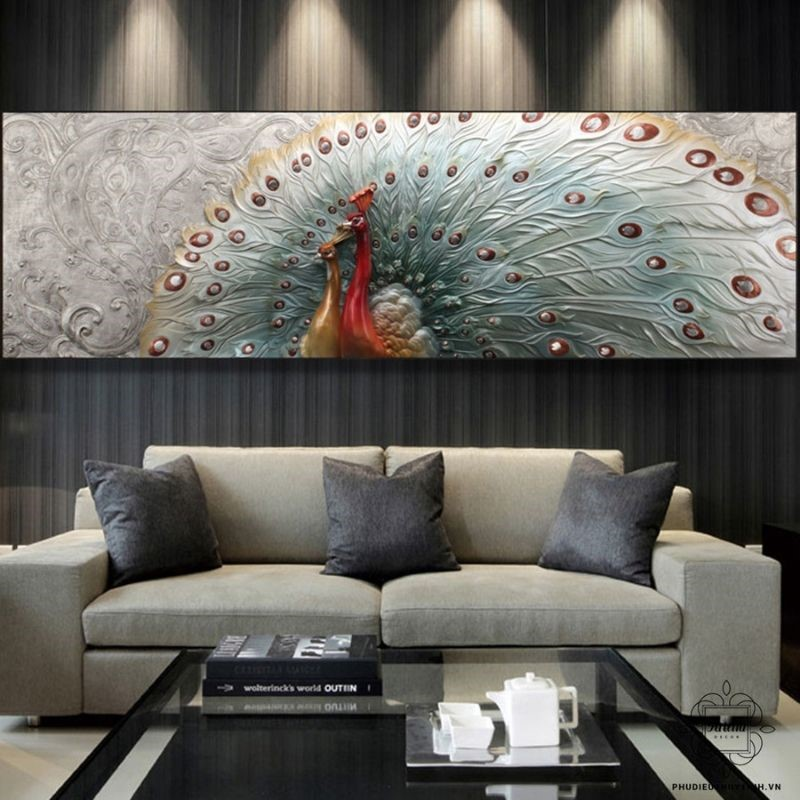 Người yêu tranh có thể chọn các dòng tranh yêu thích tại những showroom uy tín của Hà Nội