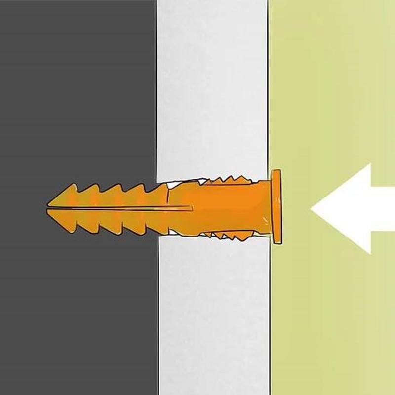 cách treo tranh có trọng lượng nặng trên tường thạch cao