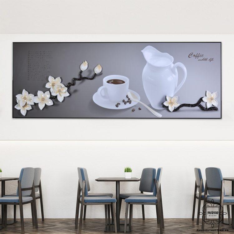 Những mẫu tranh nào thích hợp cho tường màu kem, xám?